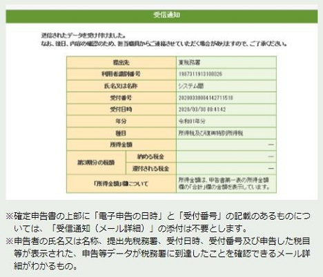 持続化給付金【個人事業主】受信通知